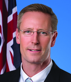 Dr Dan van Holst Pellekaan MP